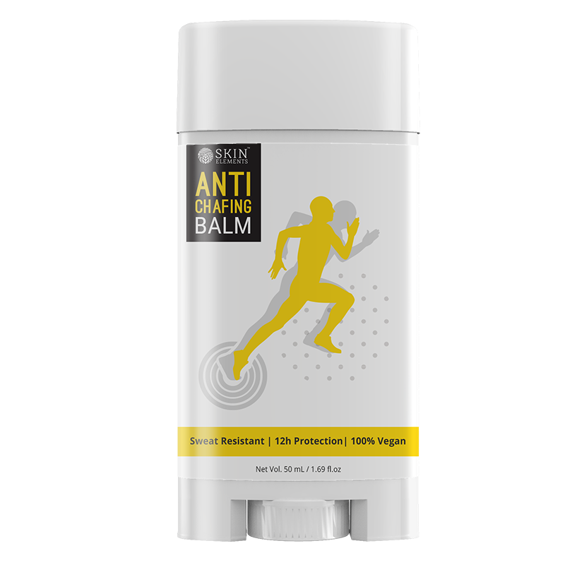 Skin Elements Anti-Chafing Balm- Sweat Resistant, Avoids Blisters & Rashes (50ml)