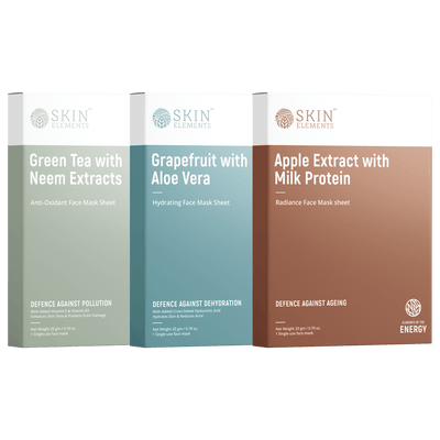 Skin Elements Face Mask Sheets Combo Pack (6 masks)