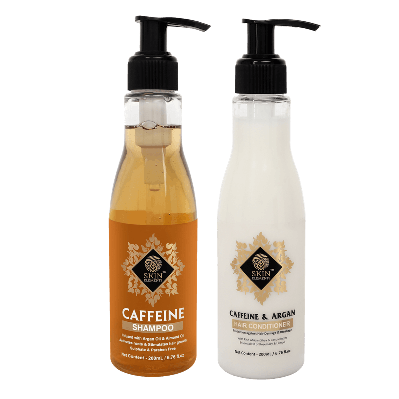 Hair Fall Control Pack with Caffeine Shampoo & Conditioner 200ml (each)