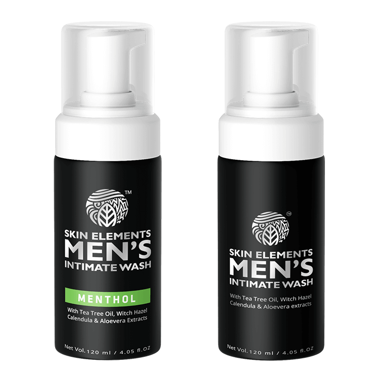 Ultimate Hygiene Duo- Men's Intimate Wash Avoids Itching & Allergies