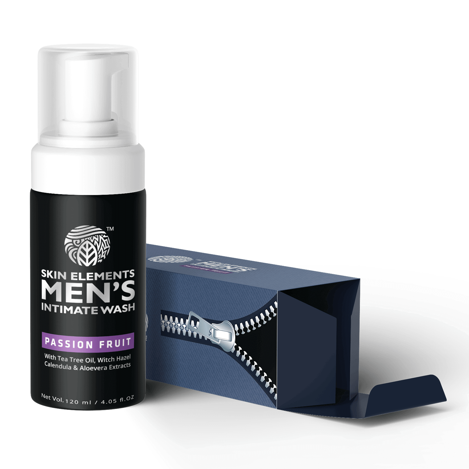 Skin Elements Intimate Wash For Men With Tea Tree Oil (120ml)