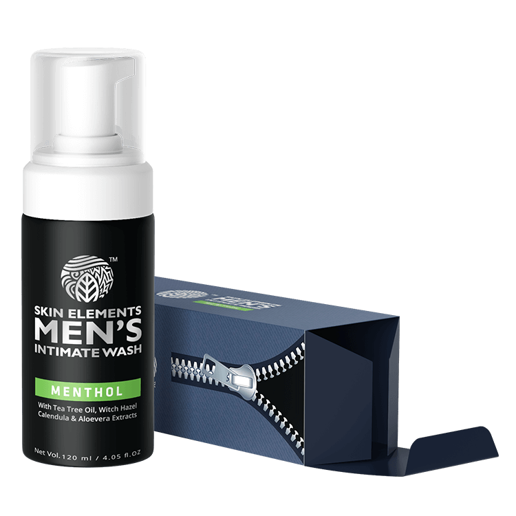 Intimate Wash for Men with Menthol