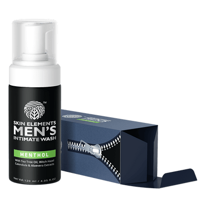 Skin Elements Intimate Wash For Men With Menthol (120ml)