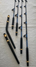 80 class Commercial series Stubbie Rods BLUE or Gold