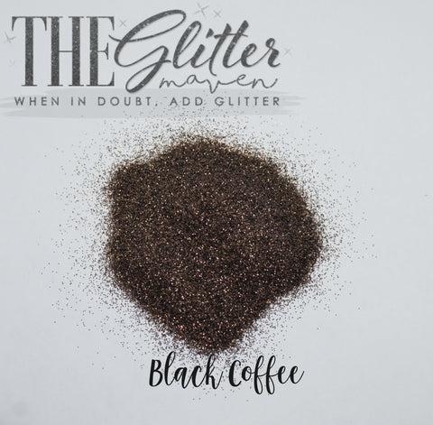 Black Coffee - Ultra Fine Glitter