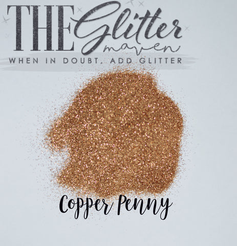 Copper Penny - Ultra Fine Glitter