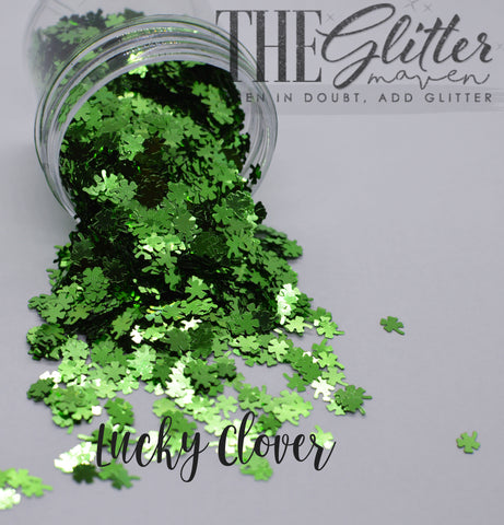 Lucky Clover - Shaped Glitter