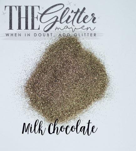 Milk Chocolate - Ultra Fine Glitter