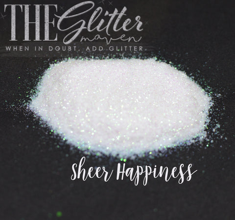 Sheer Happiness - Translucent Opal Glitter