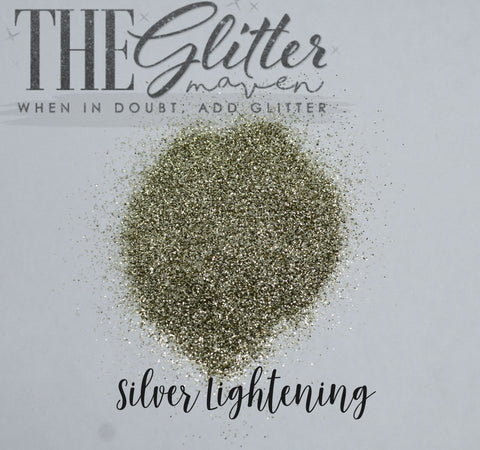 Silver Lightening - Ultra Fine Glitter