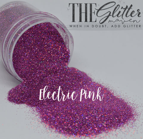 Electric Pink Holographic  - Ultrafine (.008) Glitter