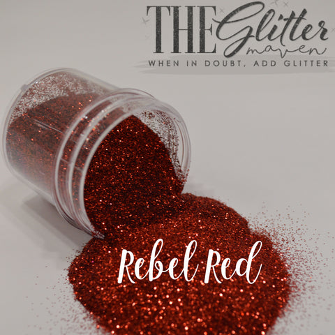 Rebel Red - Ultra-Fine Glitter