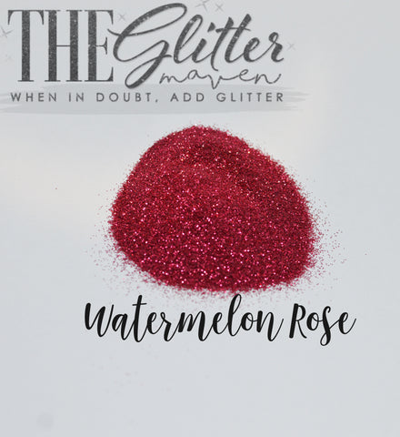 Watermelon Rose - Ultra Fine Glitter