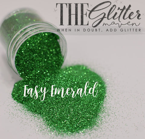Easy Emerald - Ultra fine Glitter