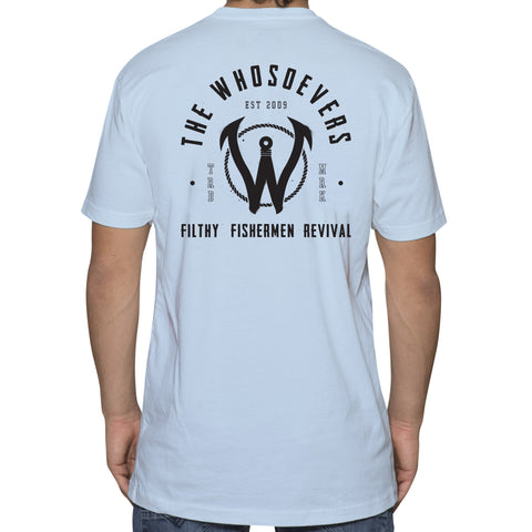 Filthy Fishermen Premium T-Shirt | Light Blue