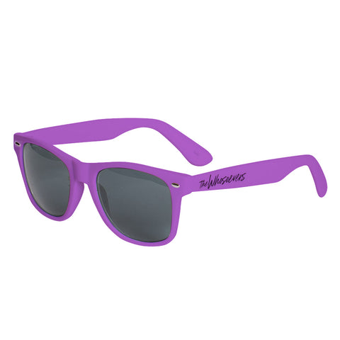 W Script Sunglasses | Purple