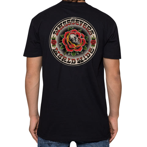 Skull Rose Premium T-Shirt | Black