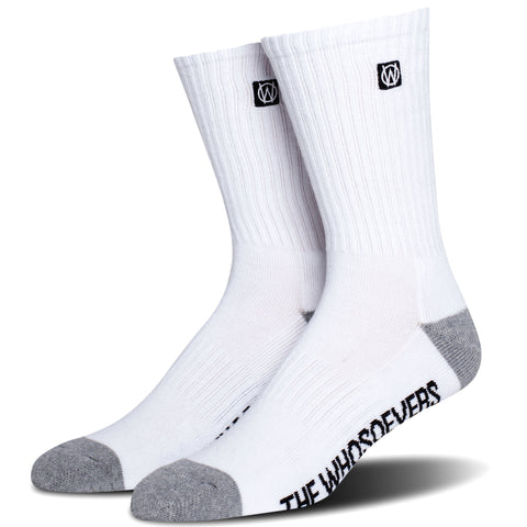 Basic Crew Sock | White