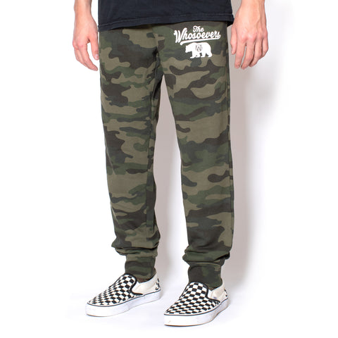 California Sweatpants | Forest Camouflage