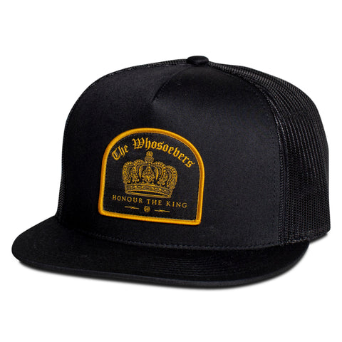 Crown Trucker Hat | Black