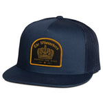 Crown Trucker Hat | Navy