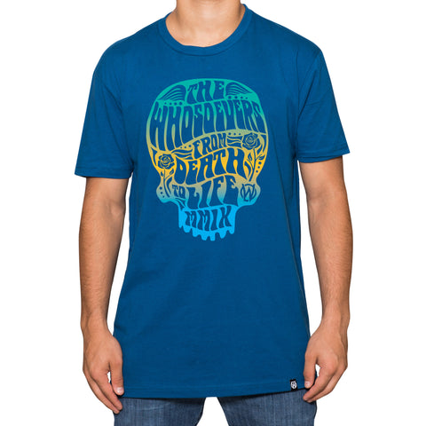 Death to Life Premium T-Shirt | Cool Blue
