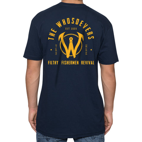 Filthy Fishermen Premium T-Shirt | Navy