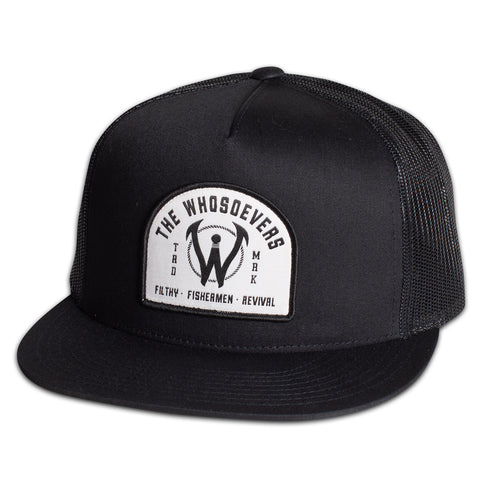 Filthy Fishermen Trucker Hat | Black