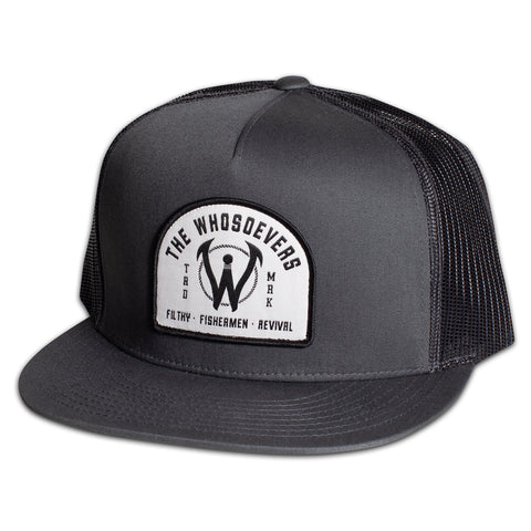 Filthy Fishermen Trucker Hat | Charcoal
