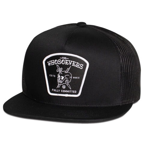 Fully Committed Trucker Hat | Black