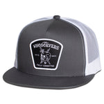 Fully Committed Trucker Hat | Charcoal/White