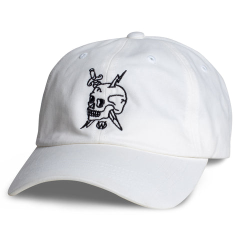 Fully Committed Dad Hat | White