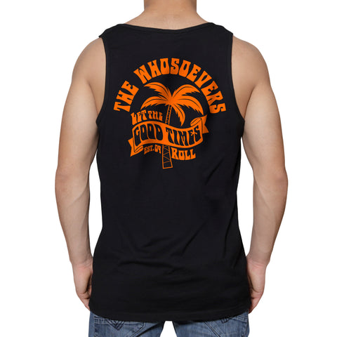 Let the Good Times Roll Premium Tank | Black