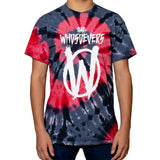 OG Stack Premium T-Shirt | Black/Red Tie Dye