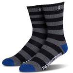 Pirate Crew Sock | Black/Charcoal Heather/Blue