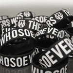 Whosoevers Rubber Wristband | Black