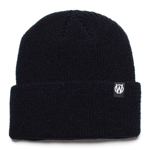 W Icon Beanie | Black