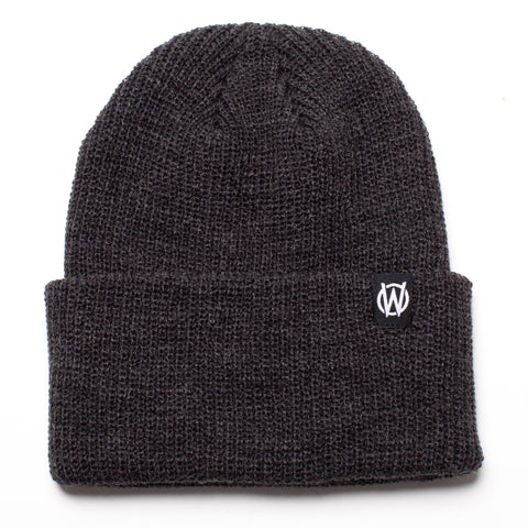 W Icon Beanie | Dark Heather