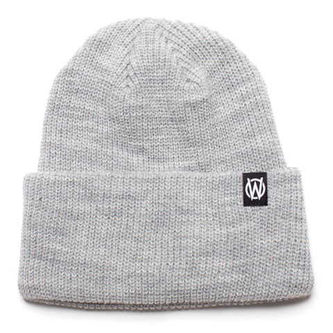 W Icon Beanie | Grey Heather