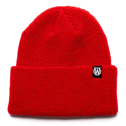 W Icon Beanie | Red