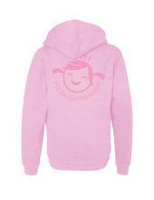 "Load image into Gallery viewer, ""DONUTS"" Hoodie, Pink, Kids"