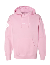 "Load image into Gallery viewer, ""DONUTS"" Hoodie, Pink, Adult"