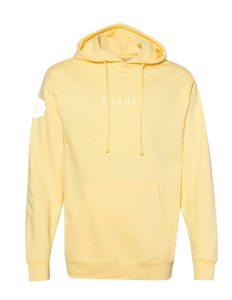 """DONUTS"" Hoodie, Butter, Adult"