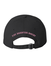 Load image into Gallery viewer, Donut Dad Hat - Black