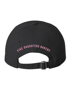 Donut Dad Hat - Black