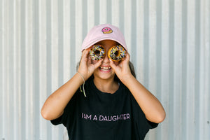 Donut Dad Hat - Pink