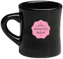 Load image into Gallery viewer, Mug - Five Daughters Bakery - Black