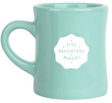 Load image into Gallery viewer, Mug - Five Daughters Bakery - Green