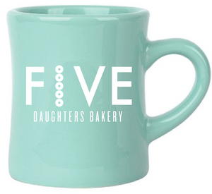 Mug - Five Daughters Bakery - Green