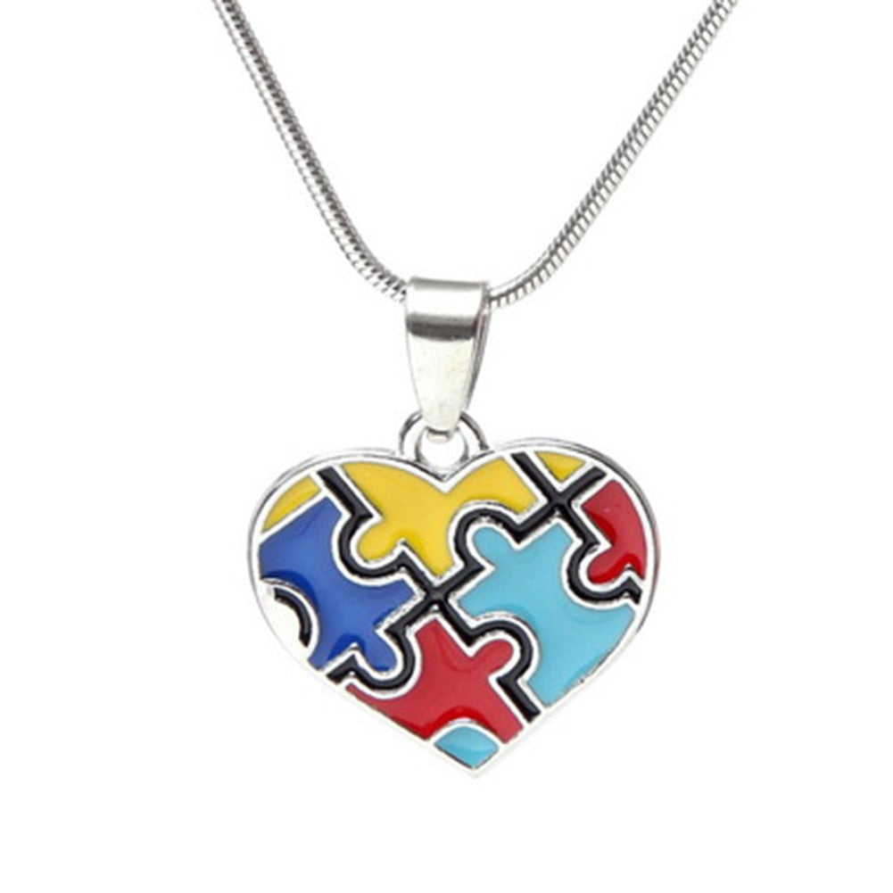 Autism Pride and Awareness Necklace